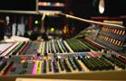 Recording studio control board