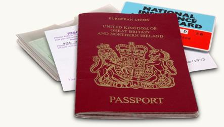 visitor passports