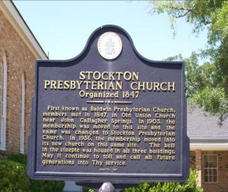 Stockton Presbyterian Church  & Historical Marker