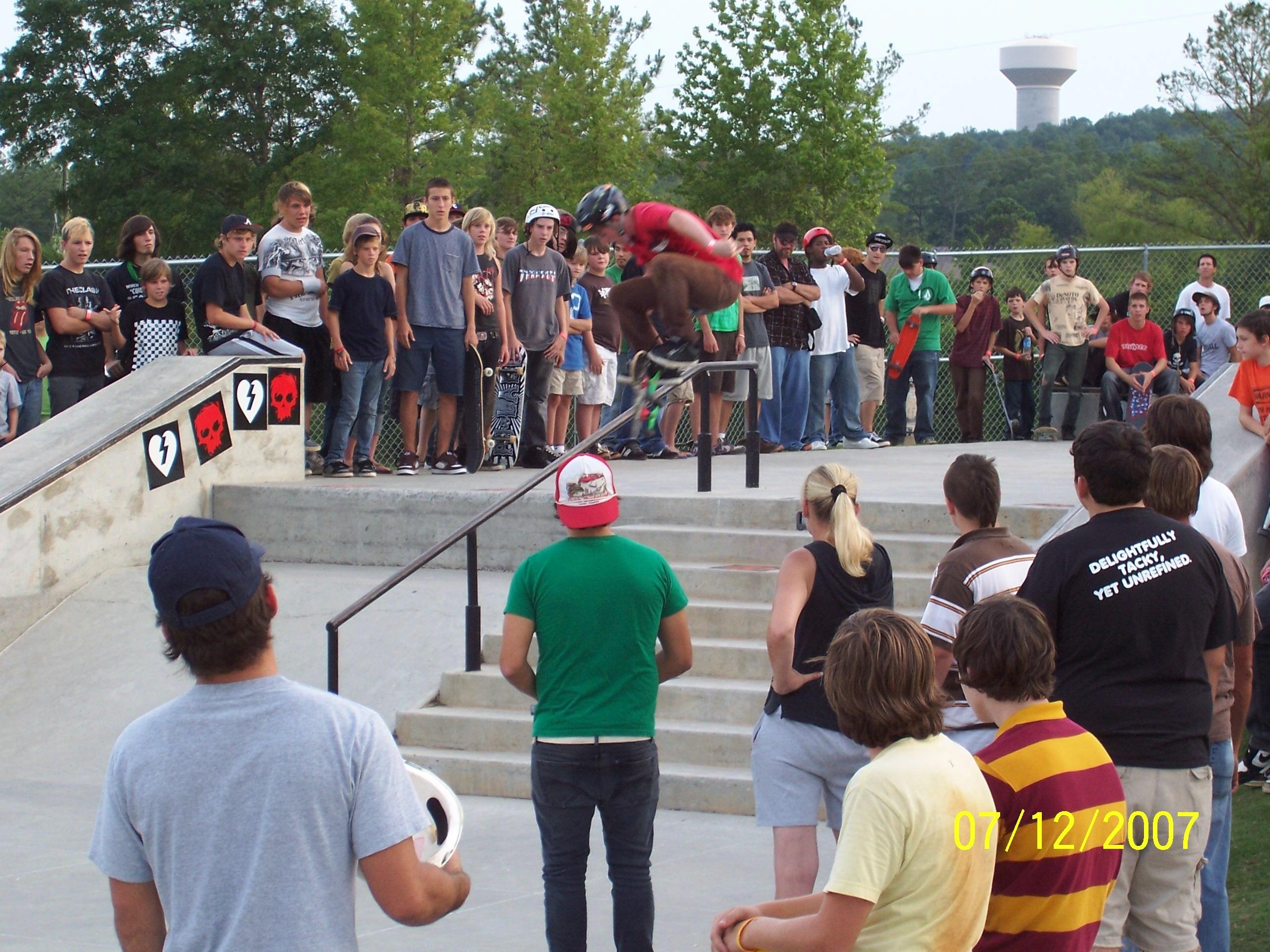 Veterans Skate Park