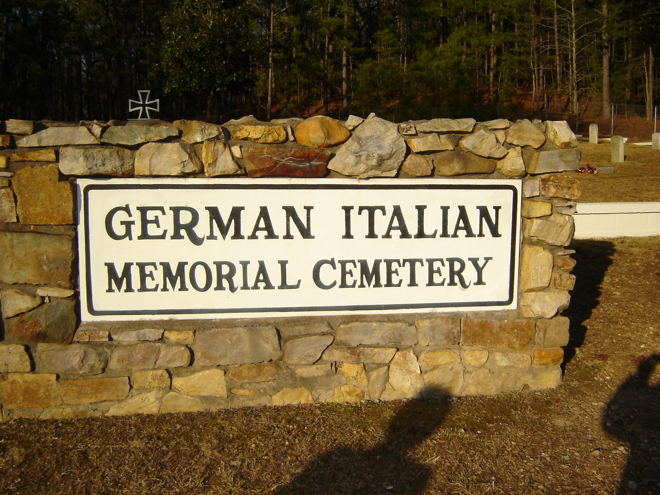 German Italian POW Cemetery