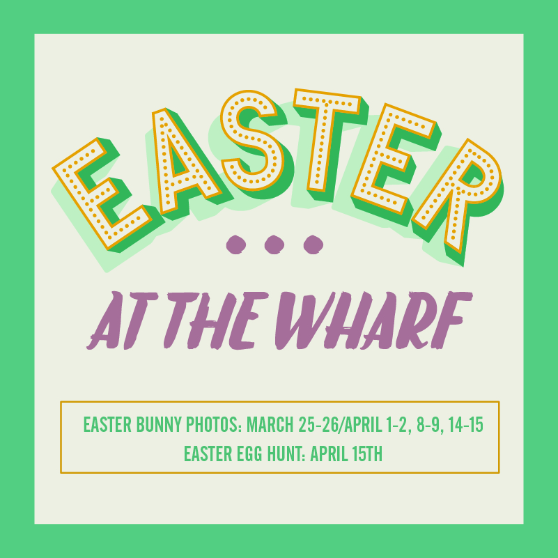 Easter Bunny Photos at The Wharf