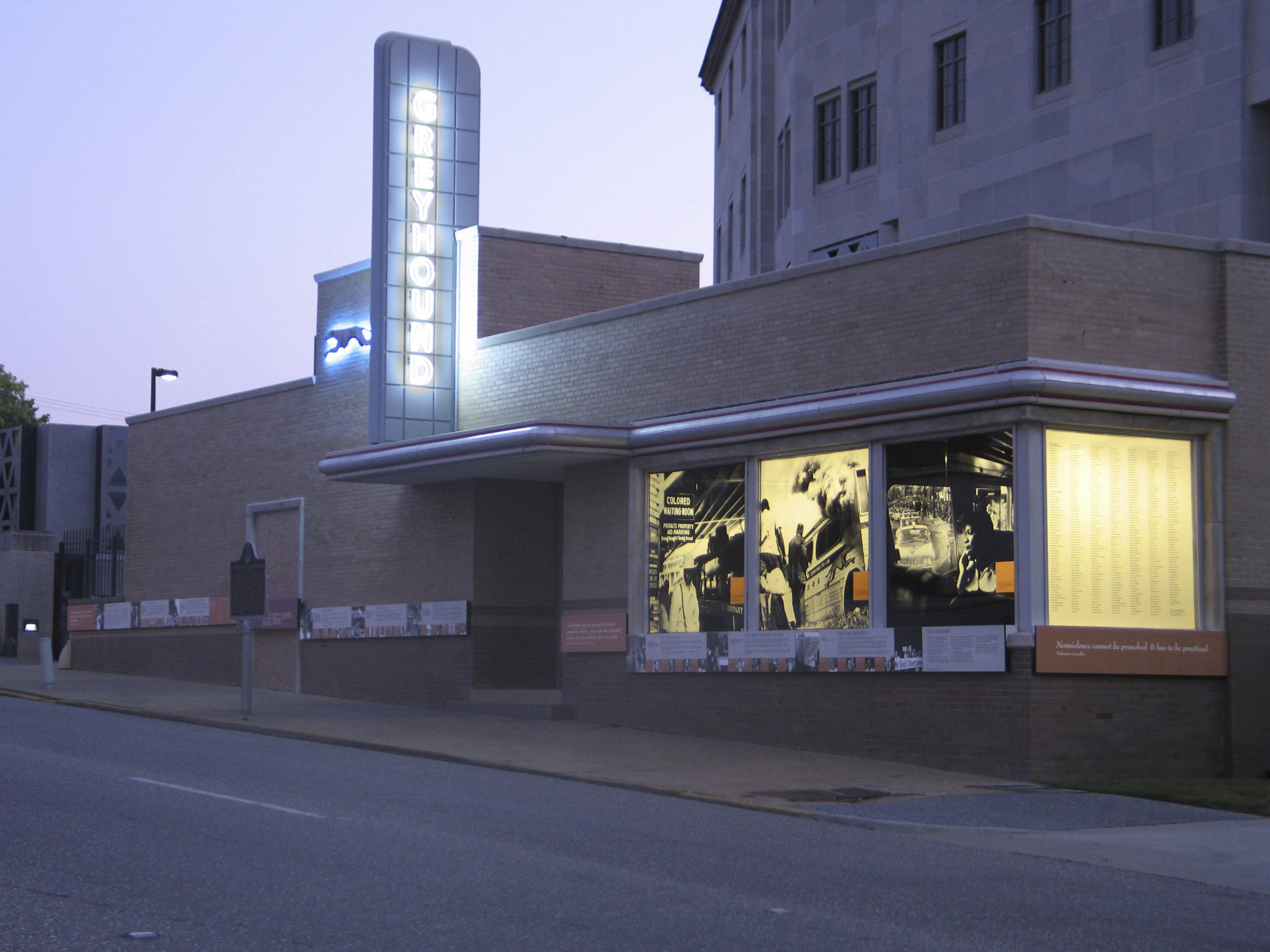Freedom Rides Museum/ Historic Montgomery Greyhound Bus Station