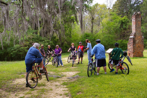 Slide_byo_bike_tour_old_cahawba_archaeological_park