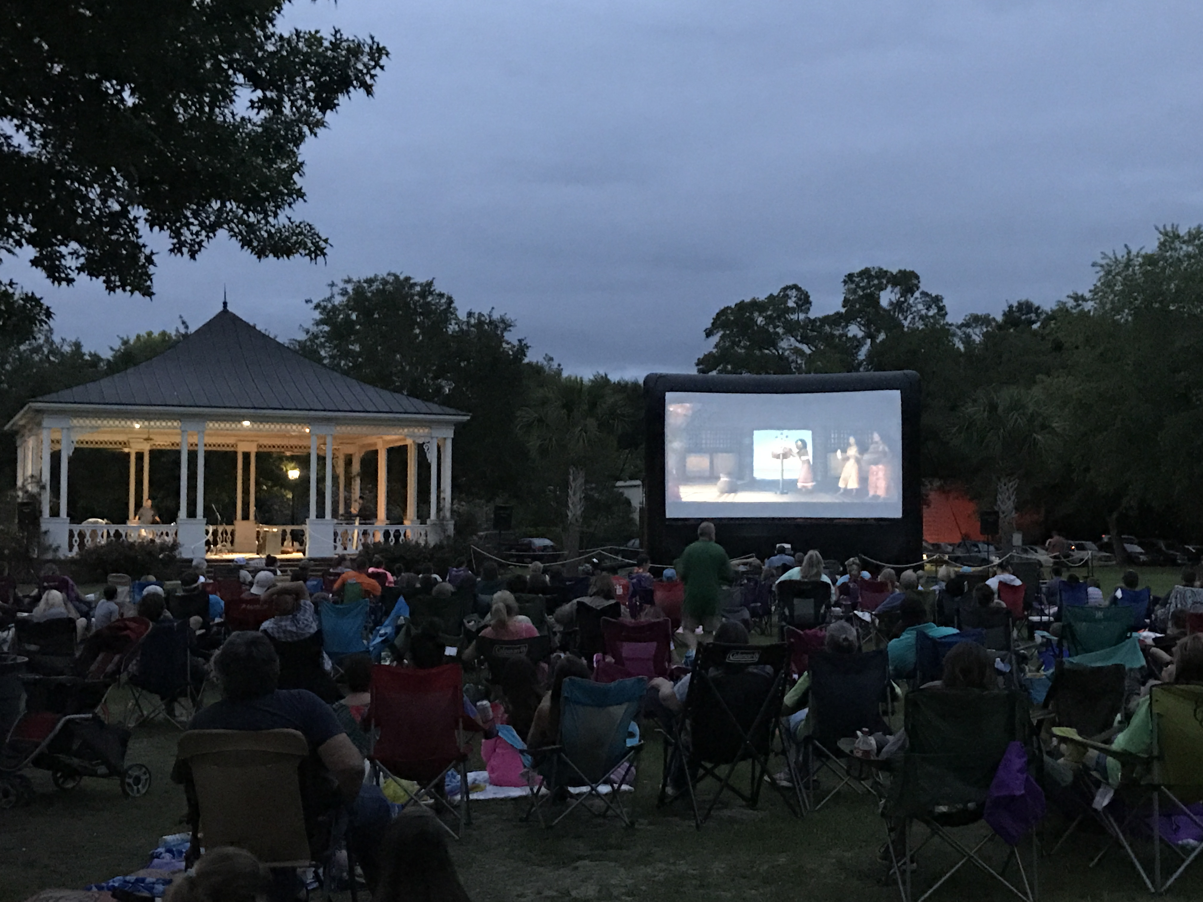 Music and a Movie in the Park/Marketplace