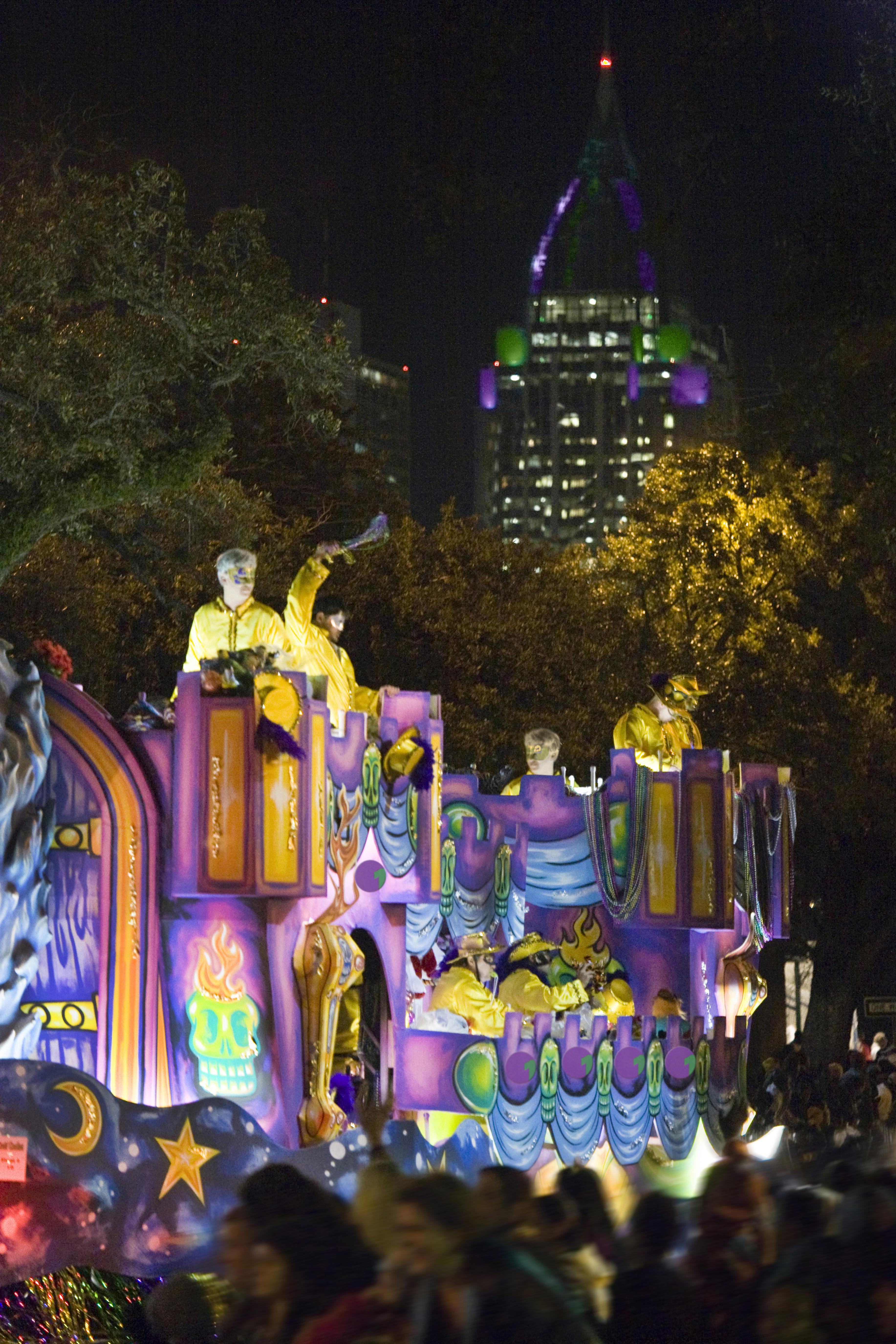 Mardi Gras Day in Mobile