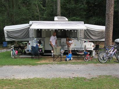 Rickwood Caverns State Park Campground
