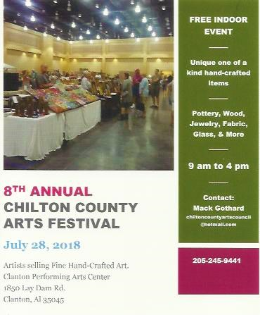 Chilton County Arts Festival