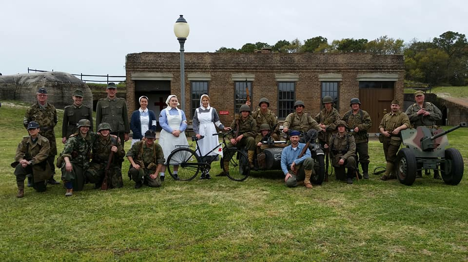 WWII Living History Event