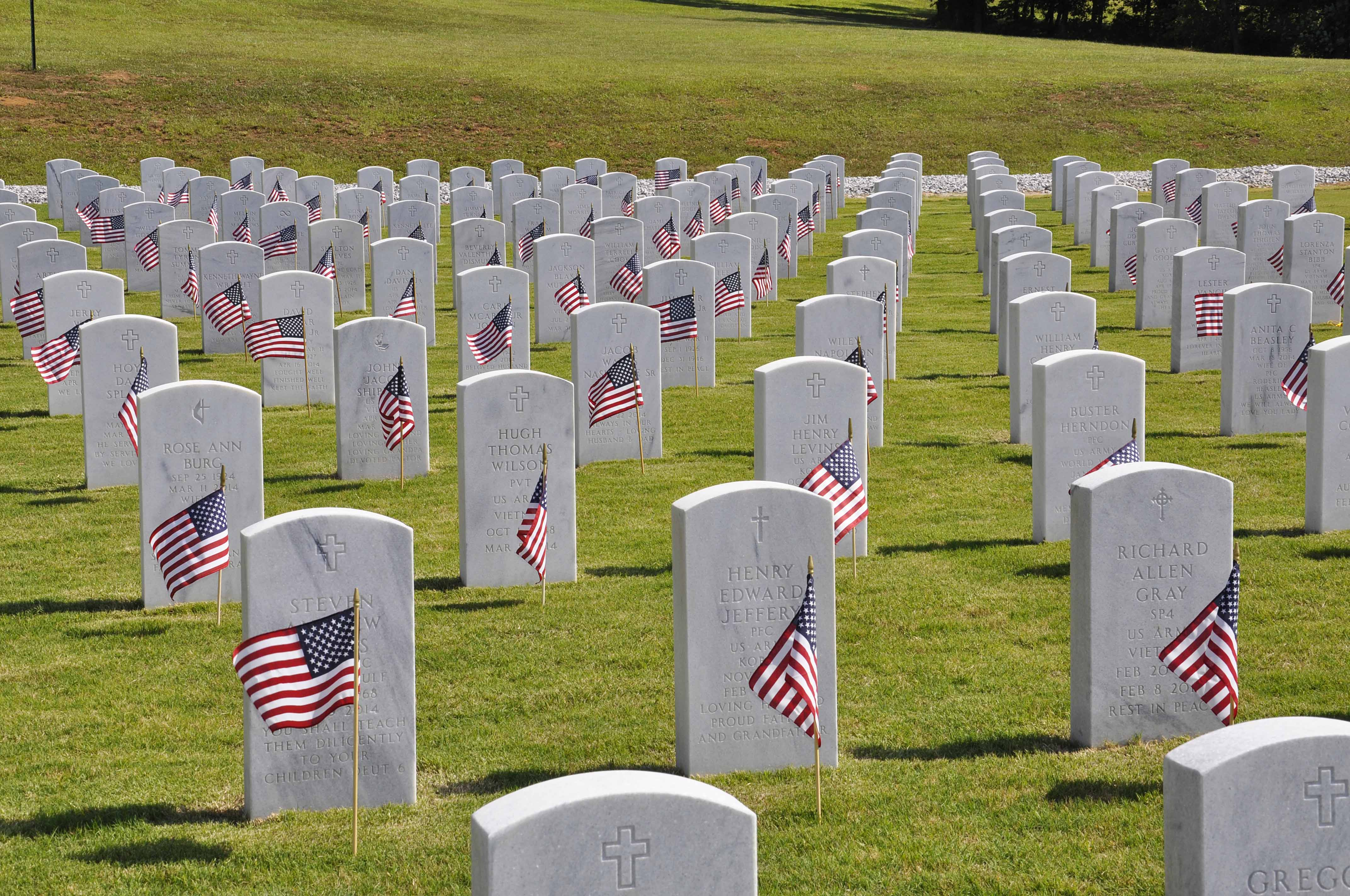 Memorial Day at the Alabama National Cemetery