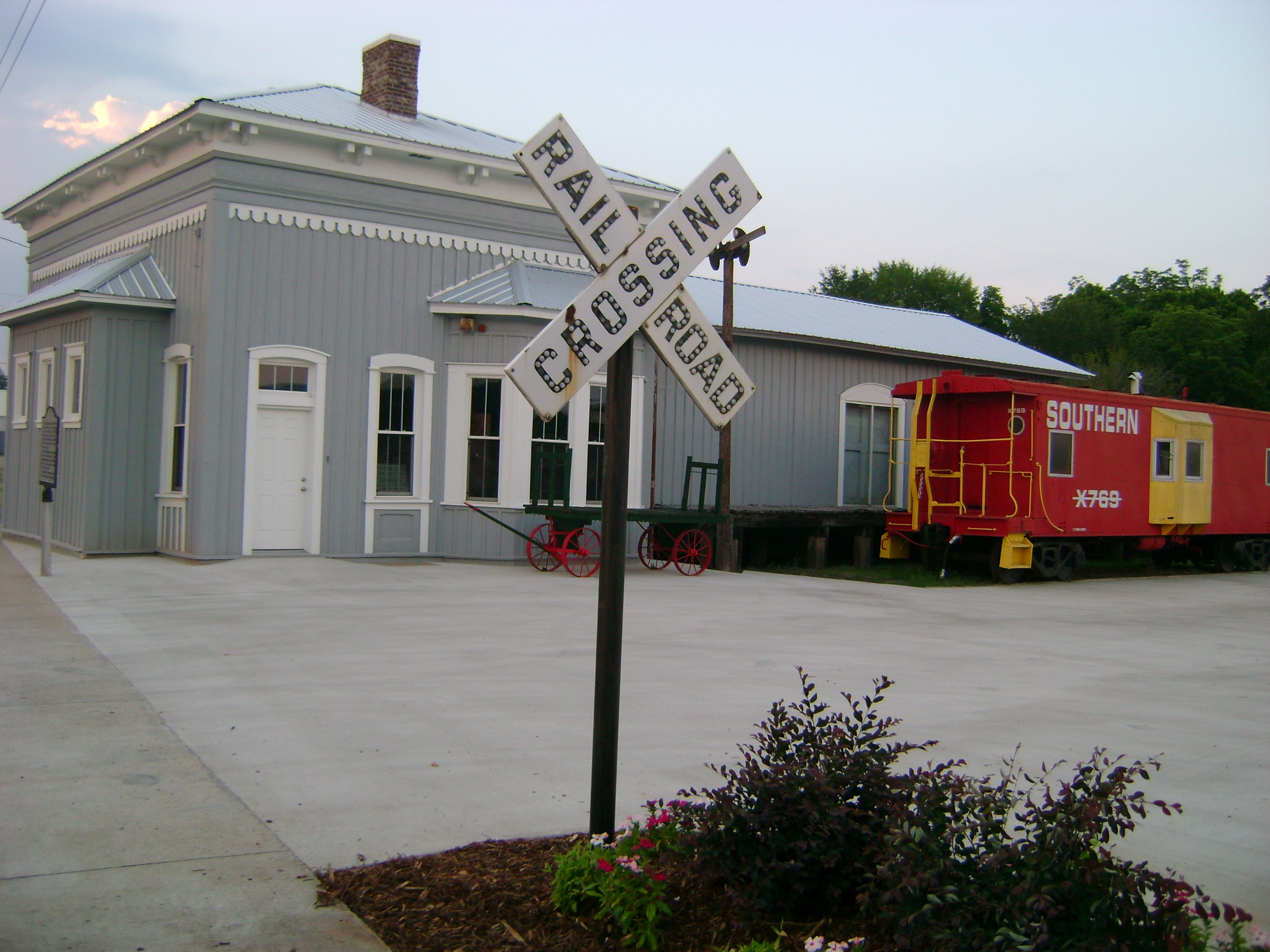 Piedmont Historical Society Southern Railroad Depot Museum