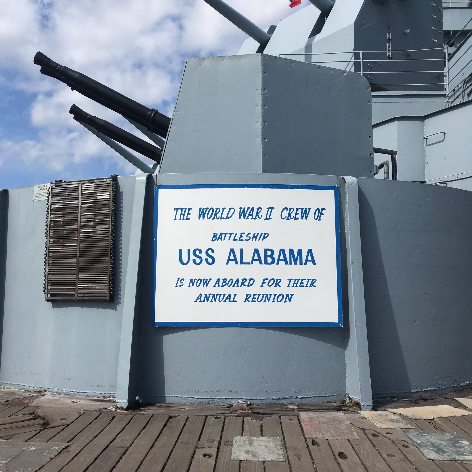USS ALABAMA Crewmen's Association Reunion
