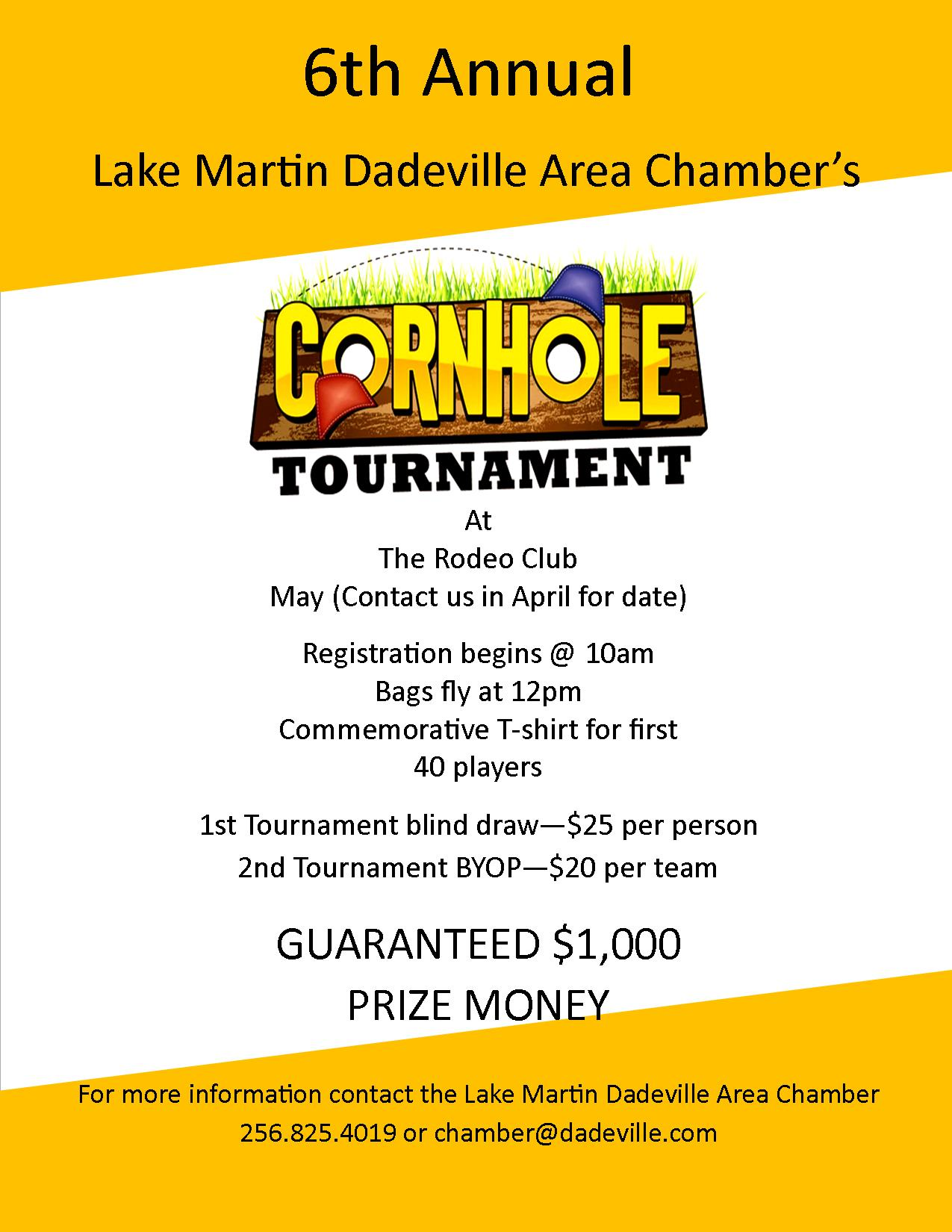 6th Annual Cornhole Tournament
