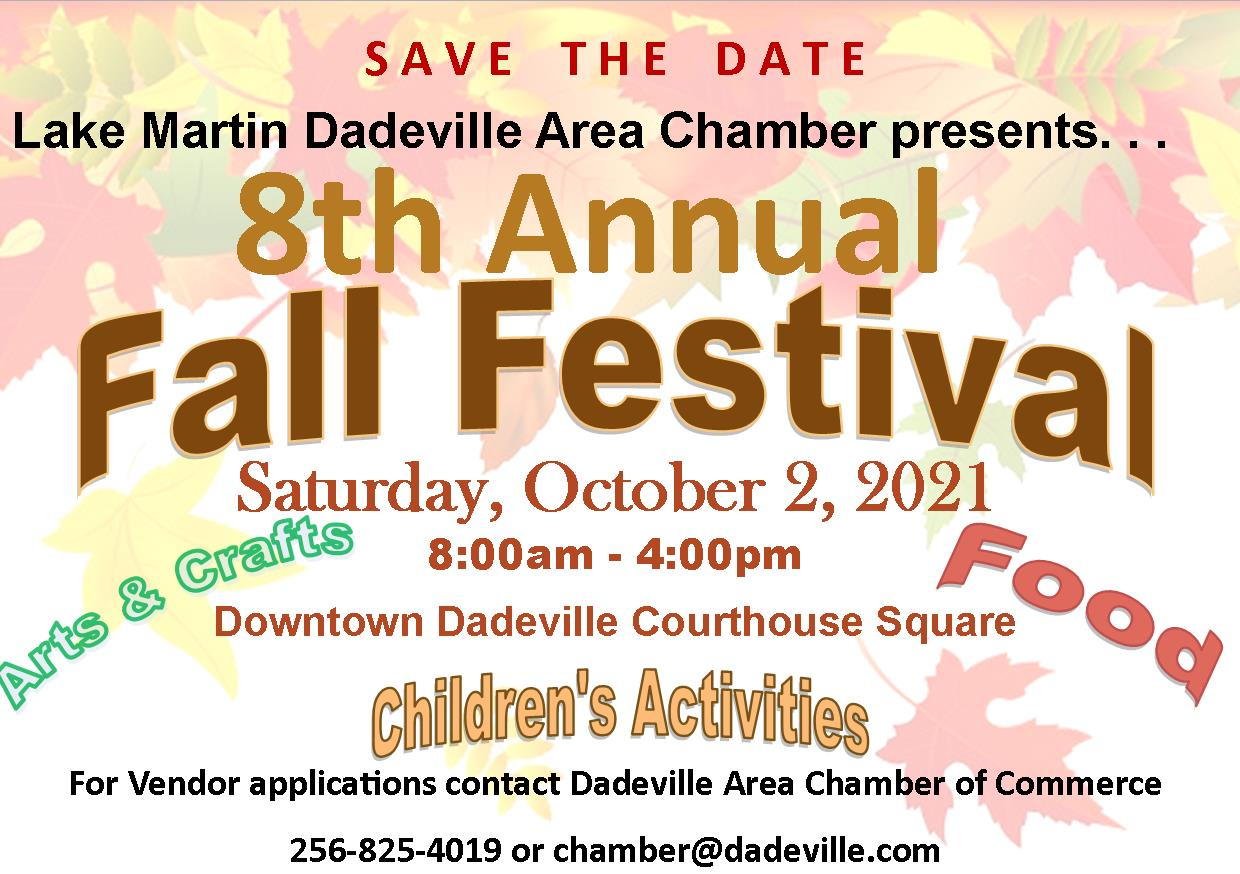 8th Annual Dadeville Fall Festival