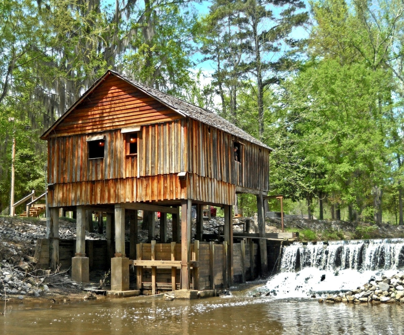 Pioneer Days at Rikard's Mill