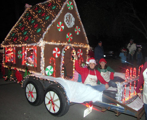 Cedar Bluff Christmas Parade & Lighting of the Park