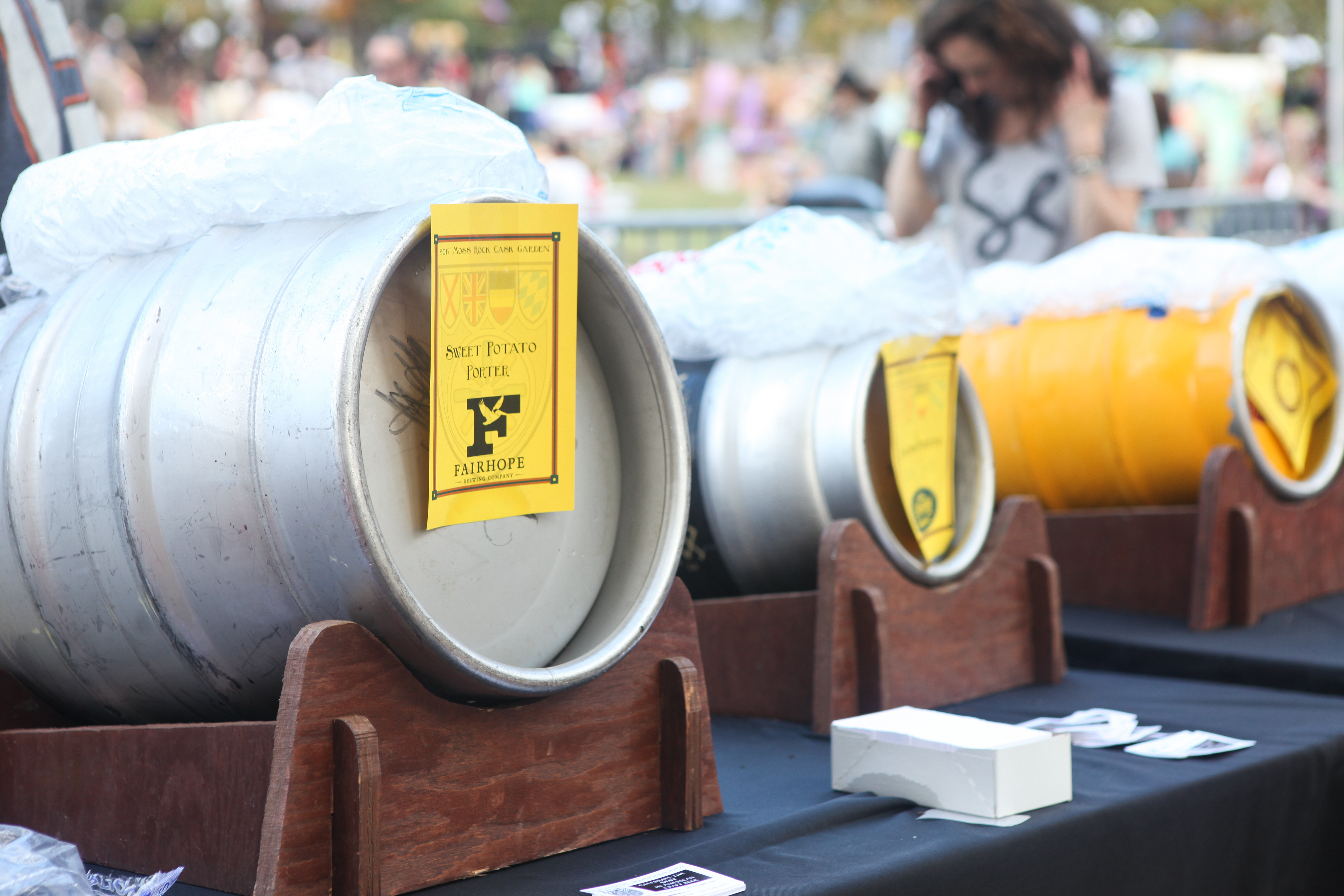 Beer Garden: Craft Tasting Event @ Moss Rock Festival