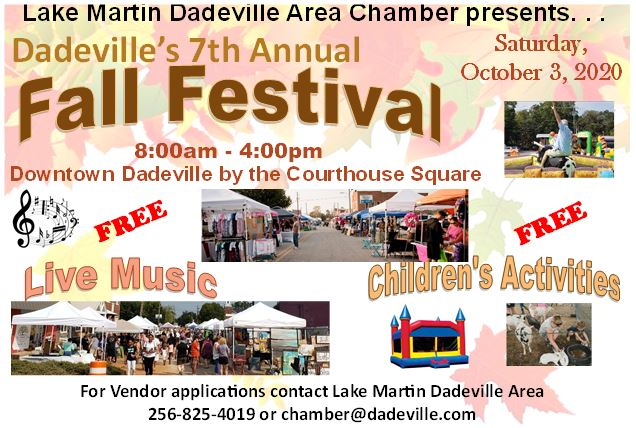 Dadeville's 7th Annual Fall Festival