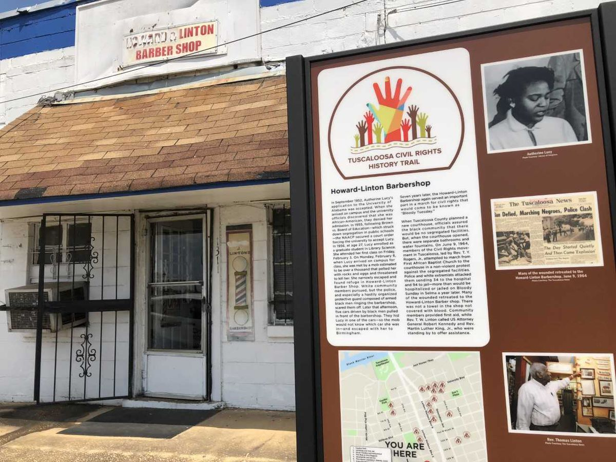 Tuscaloosa Civil Rights Trail