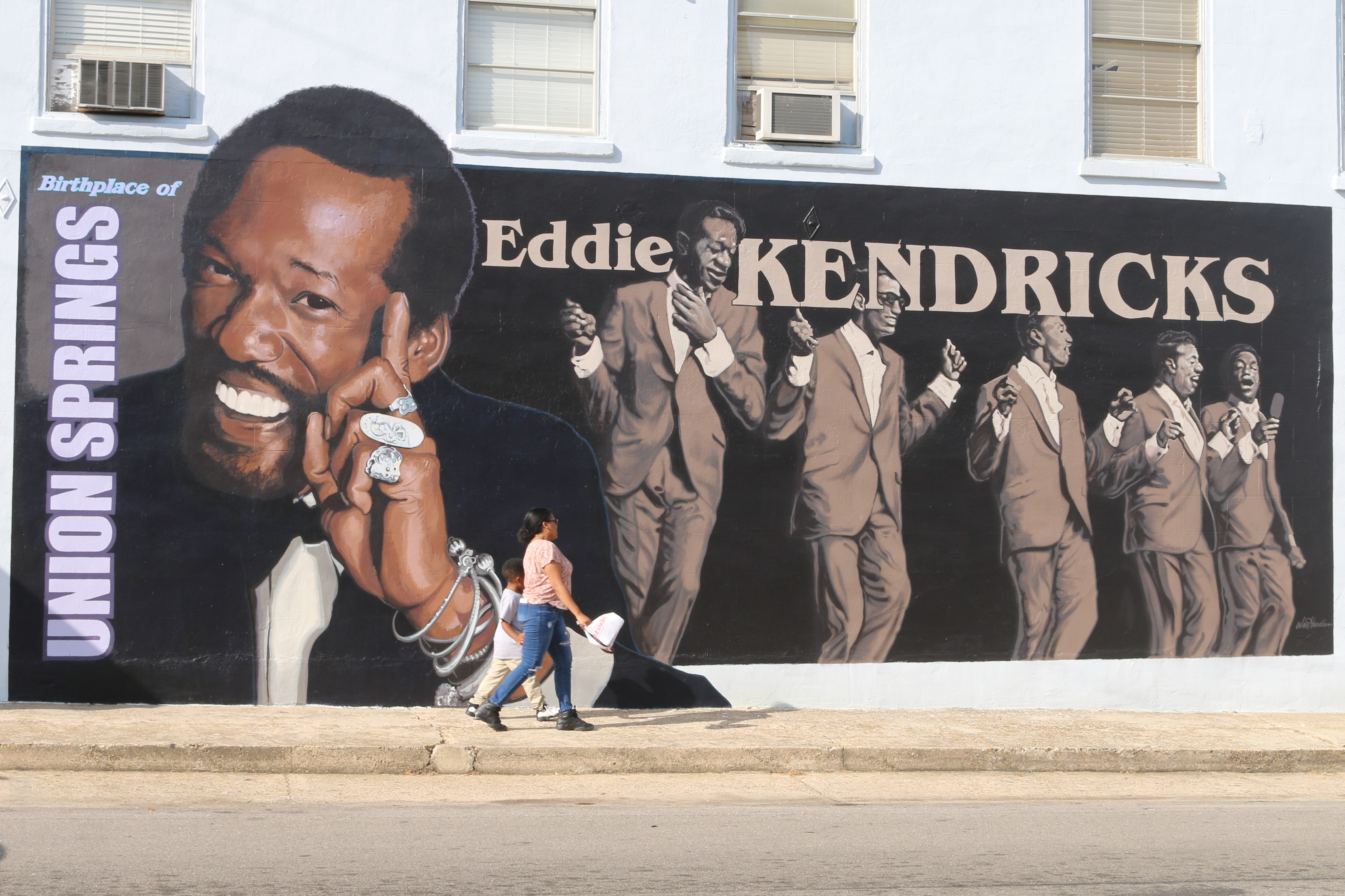 Eddie Kendricks Mural - Murals on Main