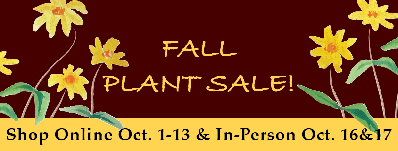 Fall Plant Sale - Shop Online!