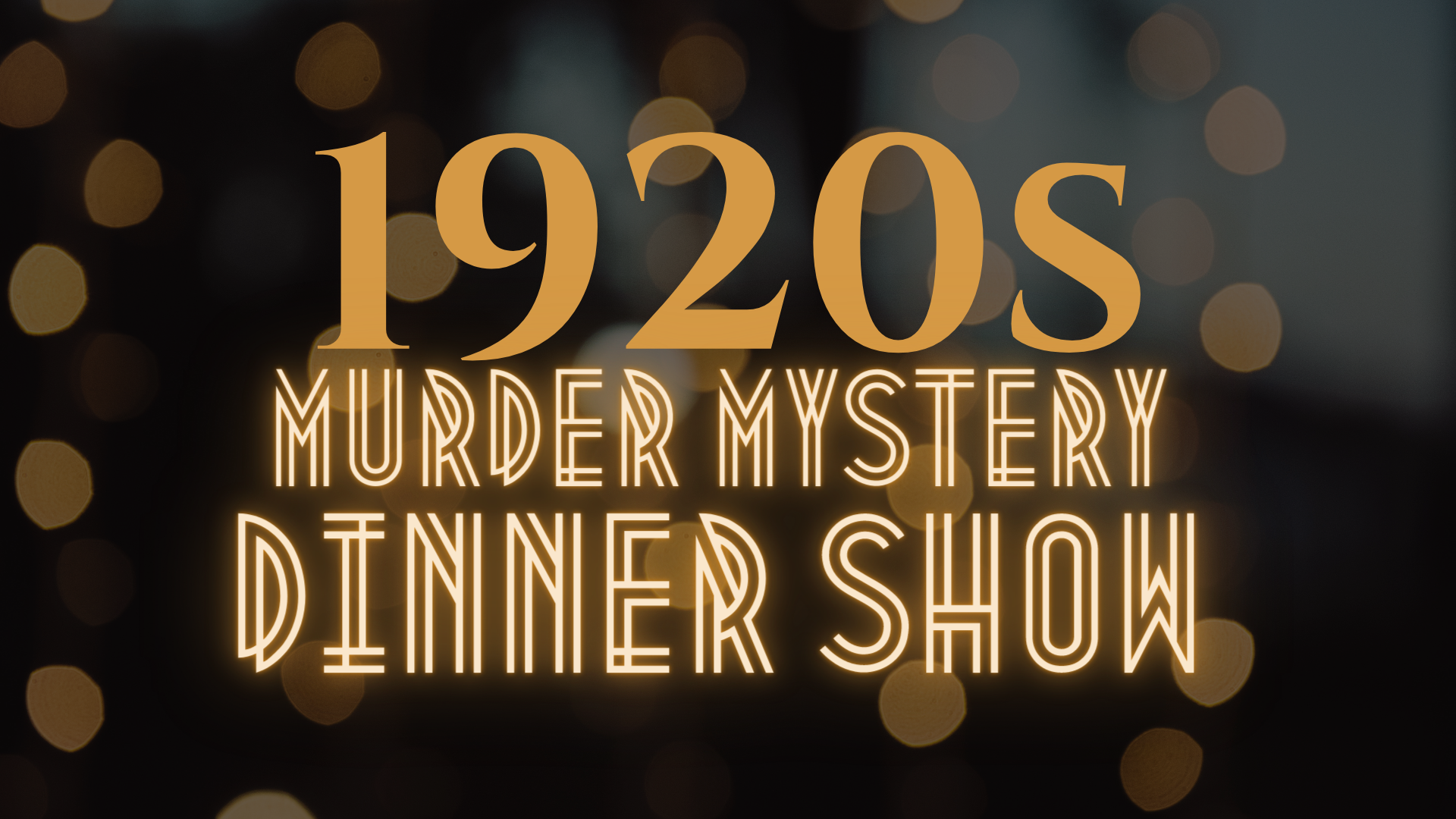 1920s Murder Mystery Dinner Show Presented by ICMTheatre