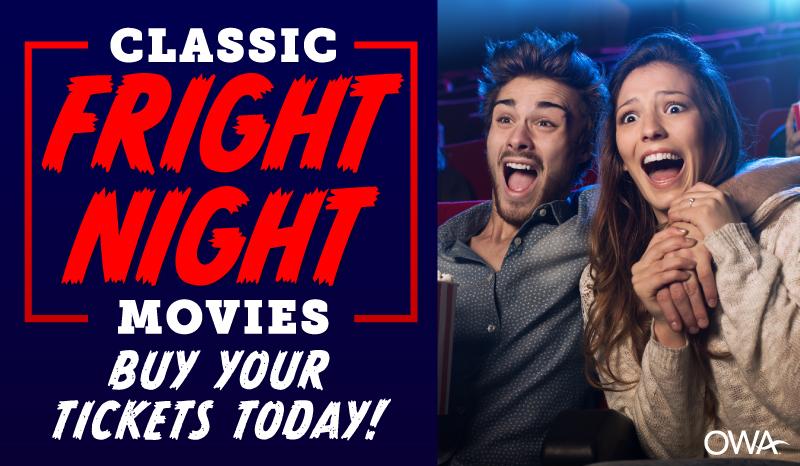 Classic Fright Movie Nights
