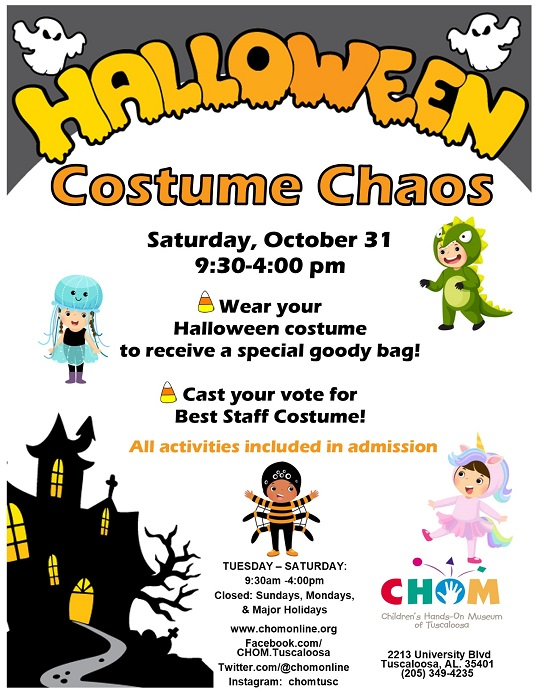 Halloween Costume Chaos at CHOM!