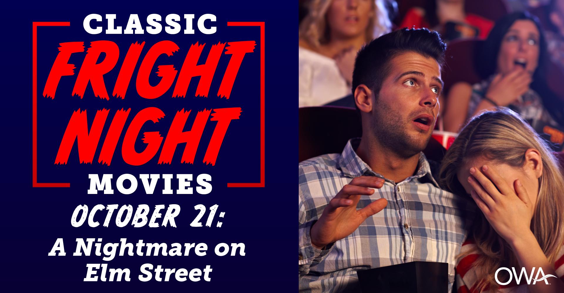 Fright Night Movies:  A Nightmare on Elm Street (1984)