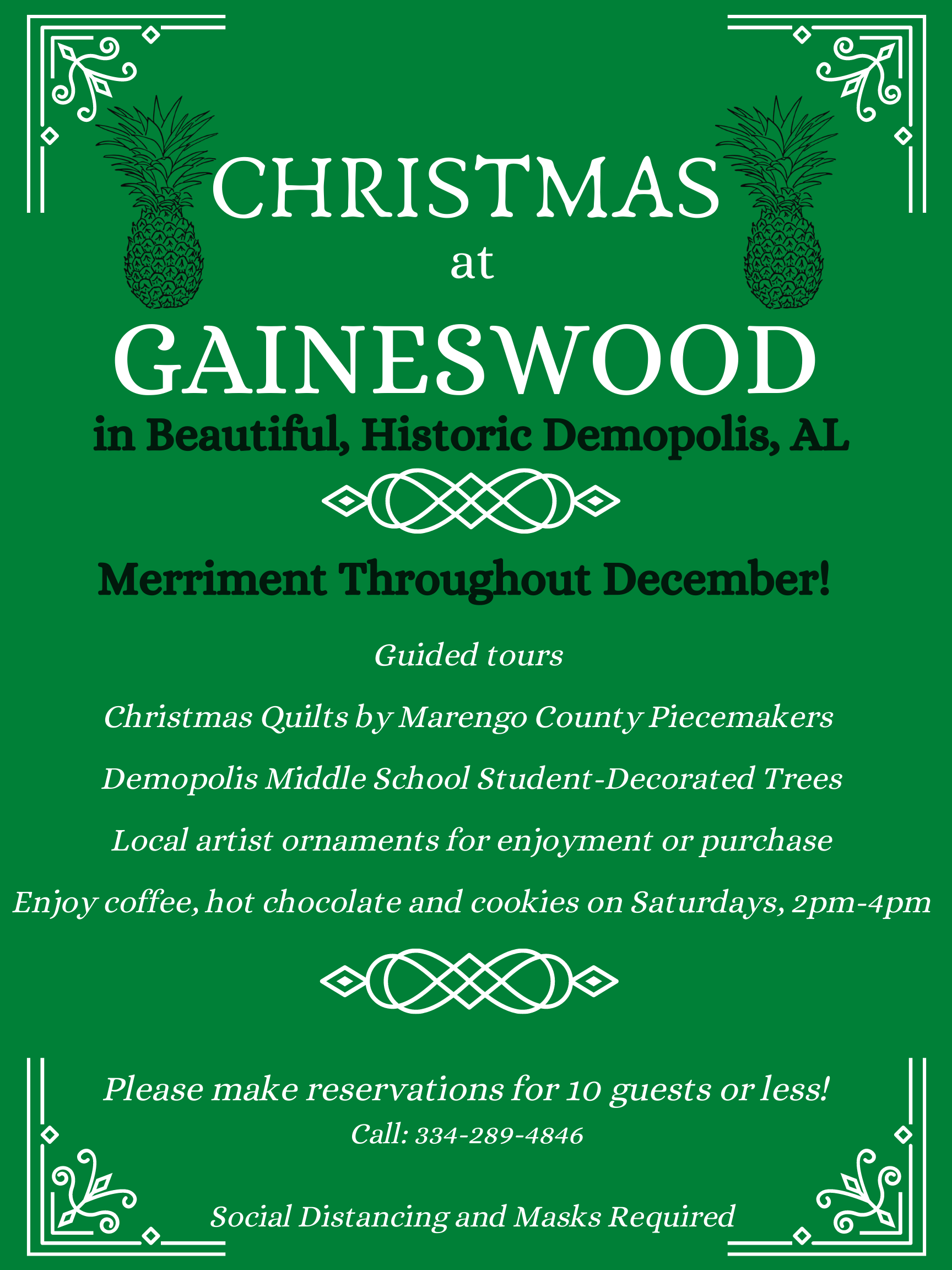Christmas at Gaineswood