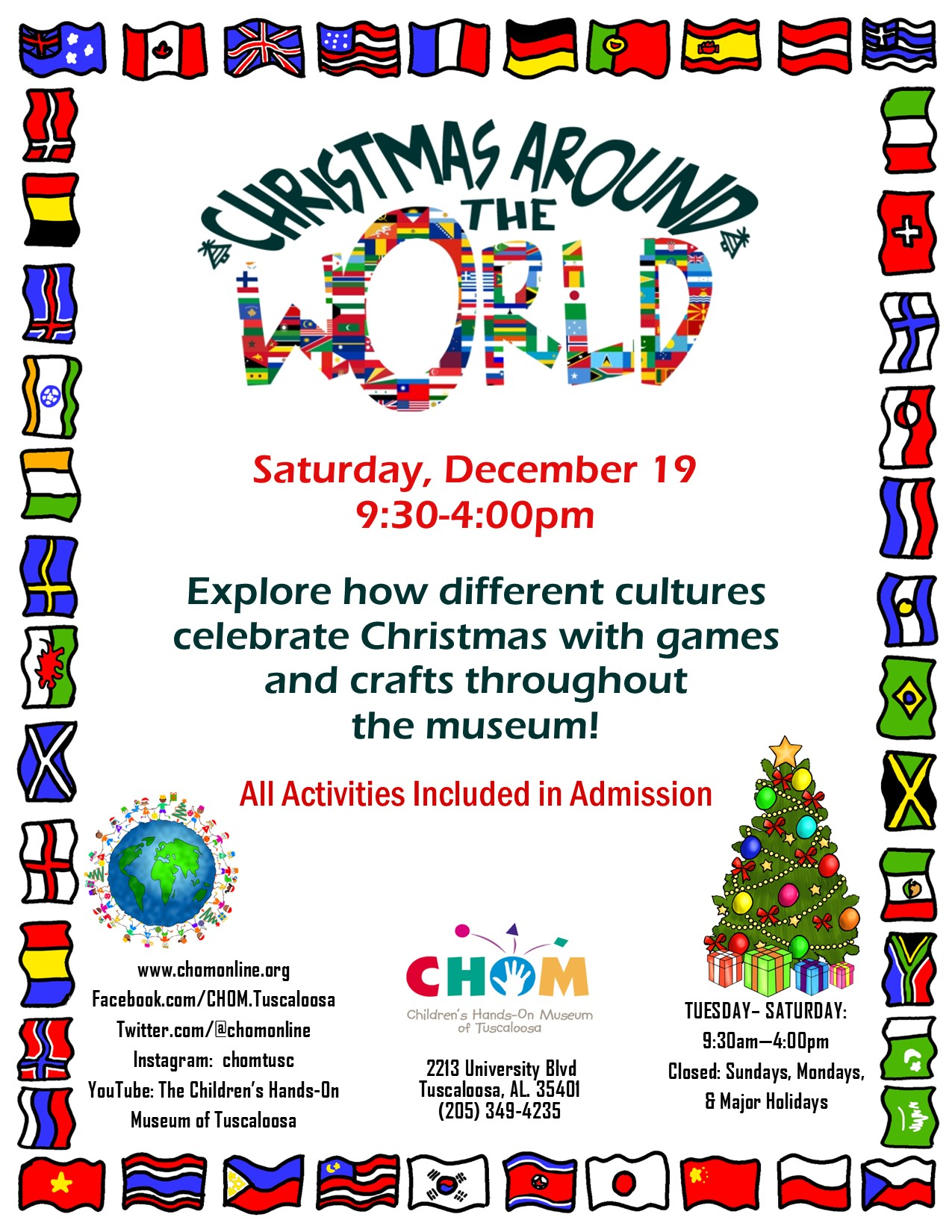 Christmas Around the World at CHOM!