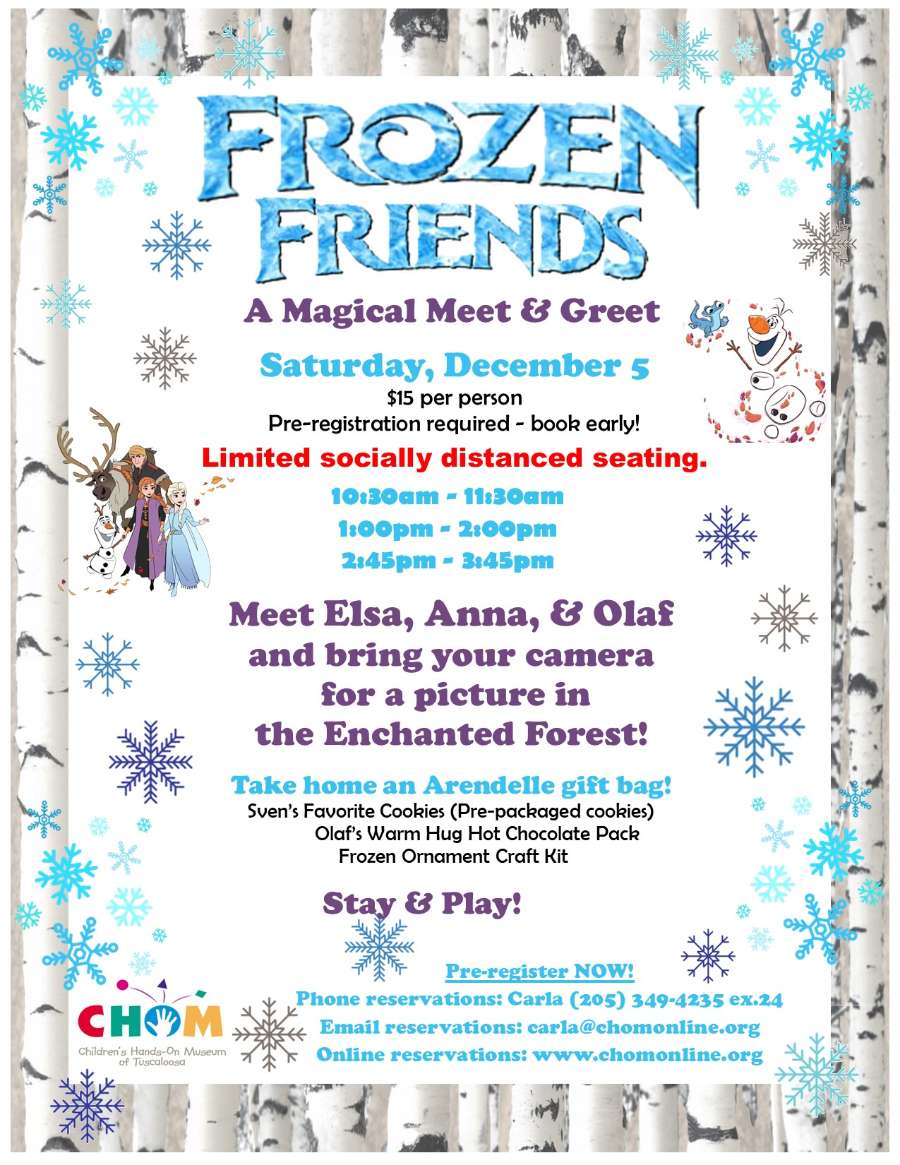 Frozen Friends, A Magicial event!