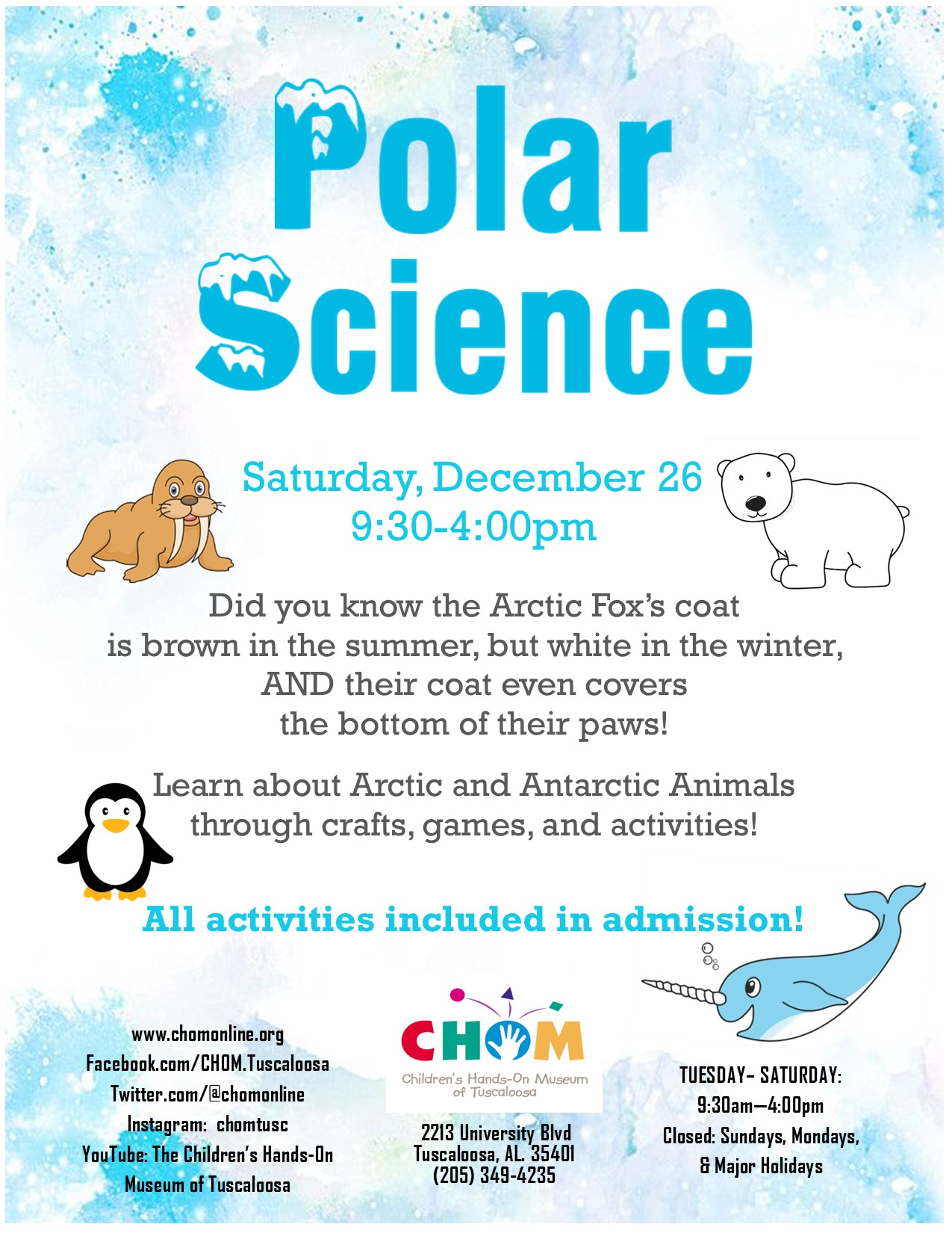 Polar Science at CHOM!