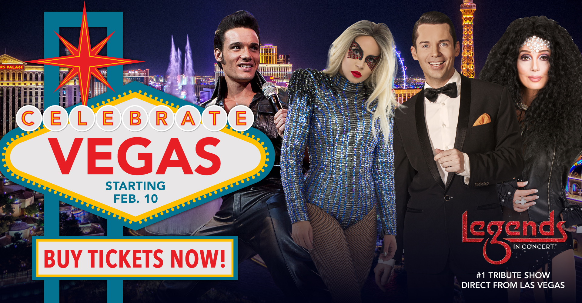 Legends in Concert: Celebrate Vegas