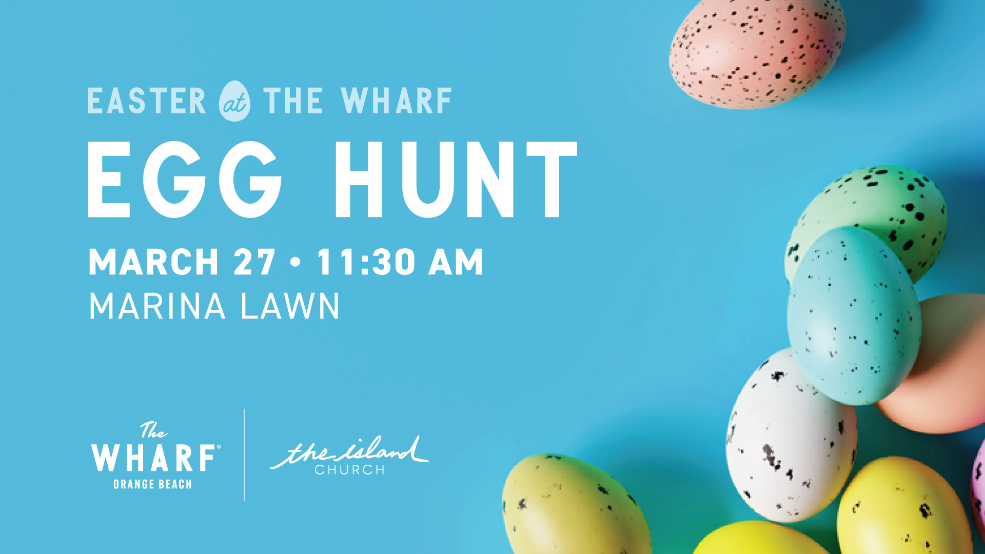 Easter Egg Hunt presented by The Island Church