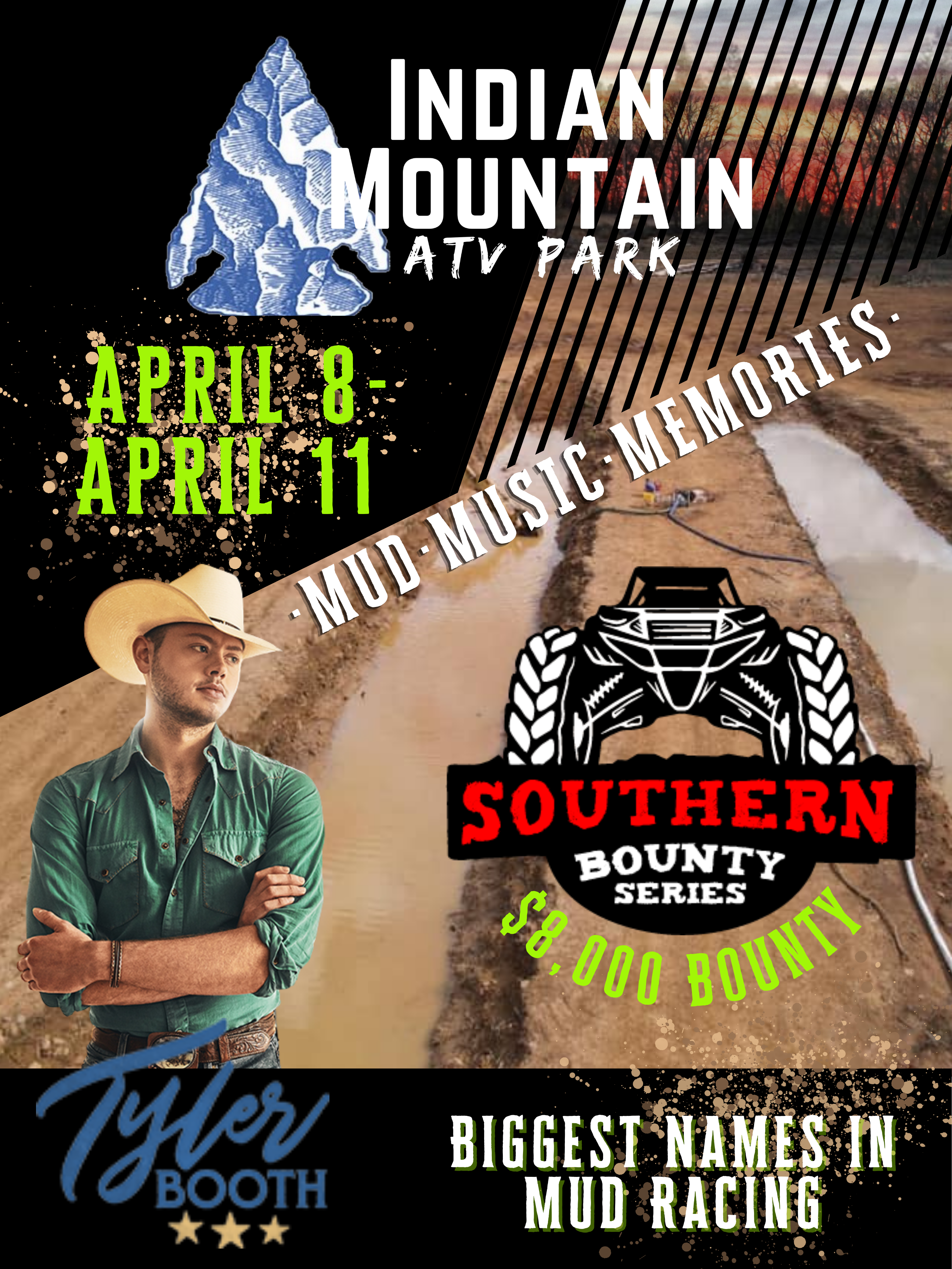 Southern Bounty Series & Tyler Booth at Indian Mountain ATV Park
