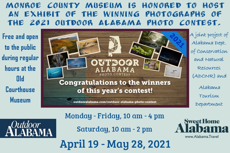 Outdoor Alabama Photo Contest Exhibit