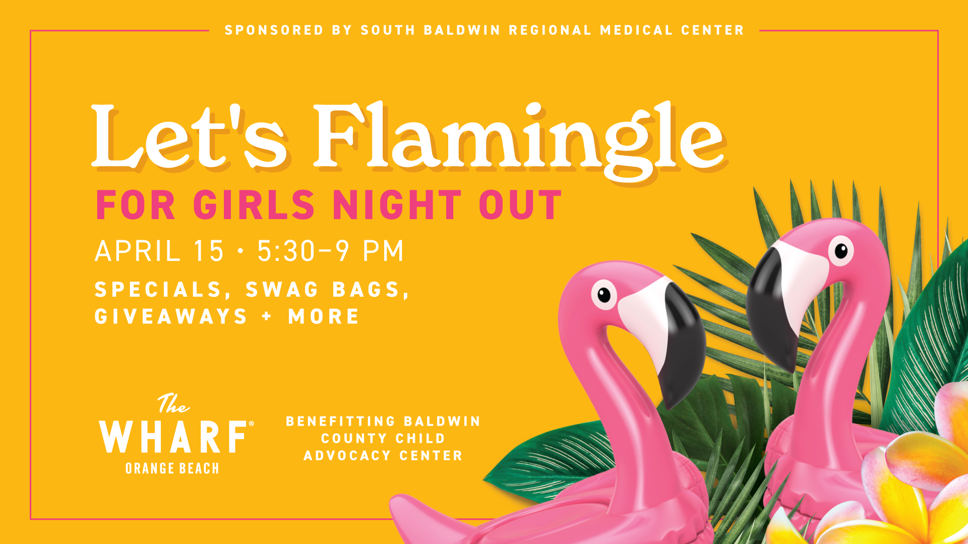 Let's Flamingle for Girls Night Out