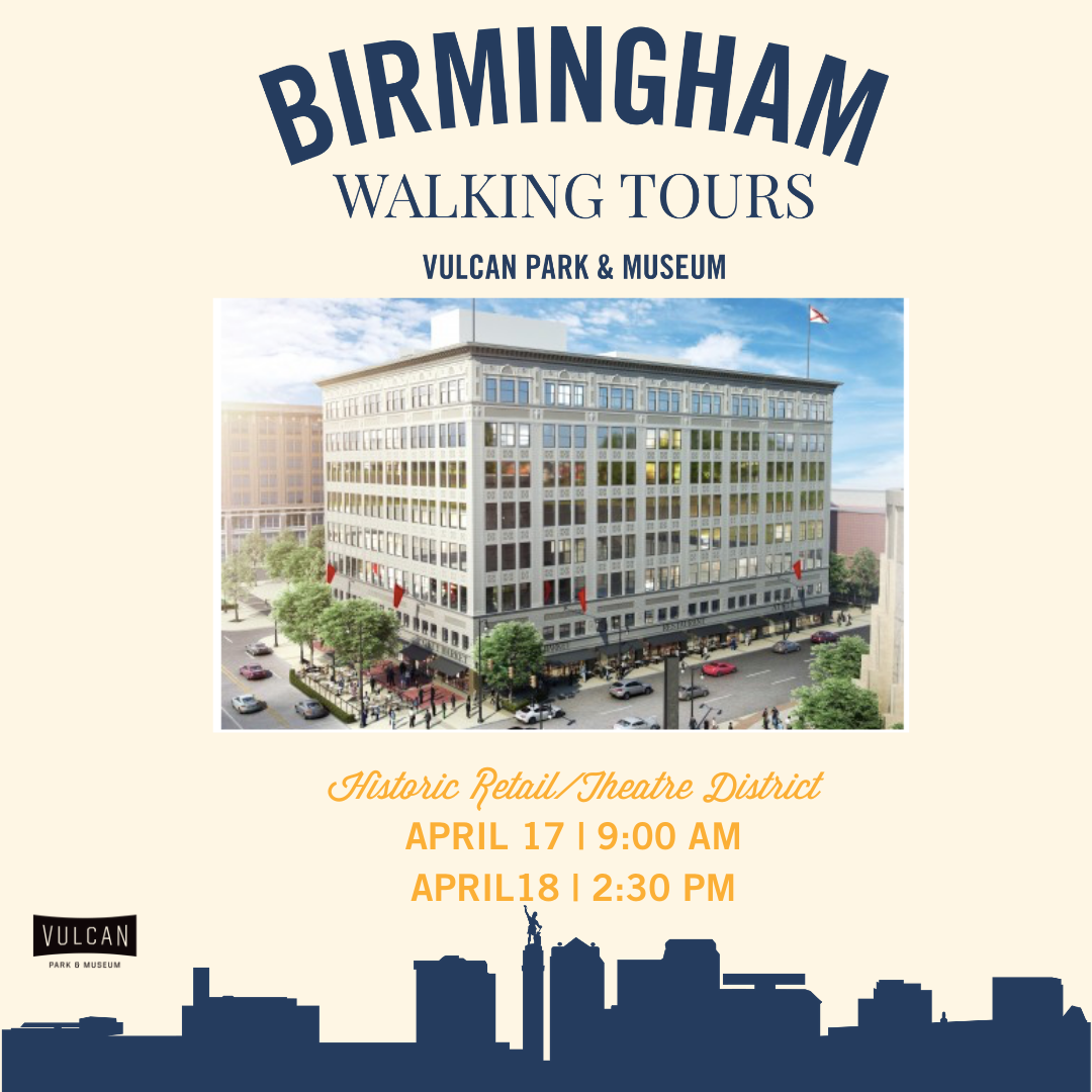 Birmingham Walking Tour Series: Historic Retail/Theatre District