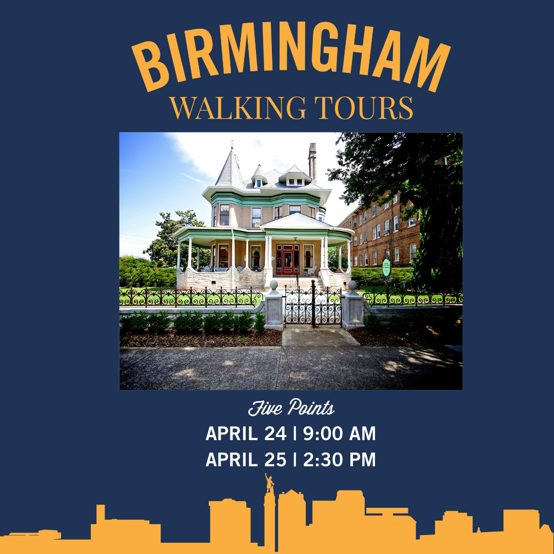 Birmingham Walking Tour Series: Five Points