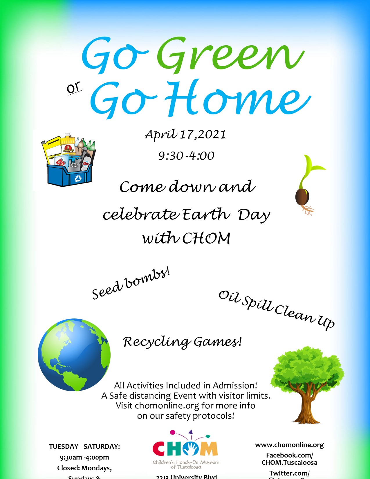 Go Green or Go Home at CHOm!