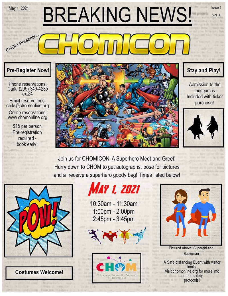 CHOMICON presented by CHOM!