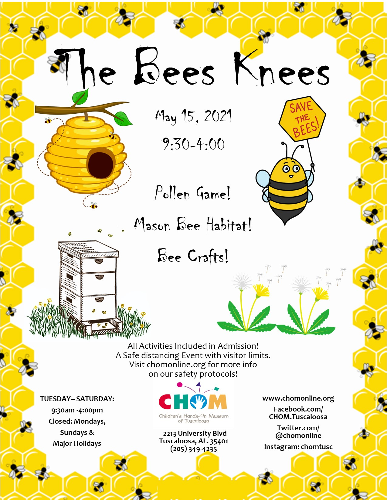 The Bees Knees at CHOM!