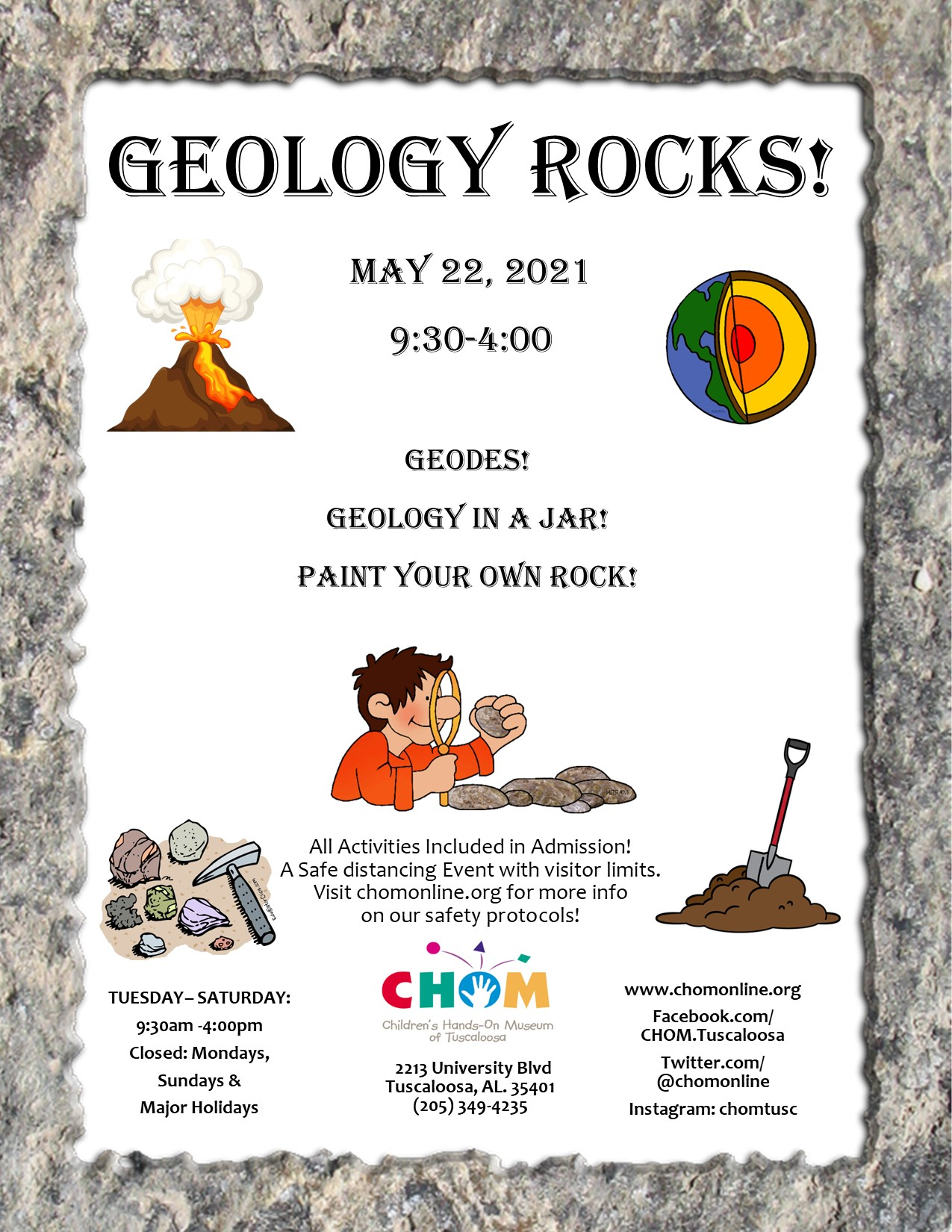 Geology Rocks at CHOM!