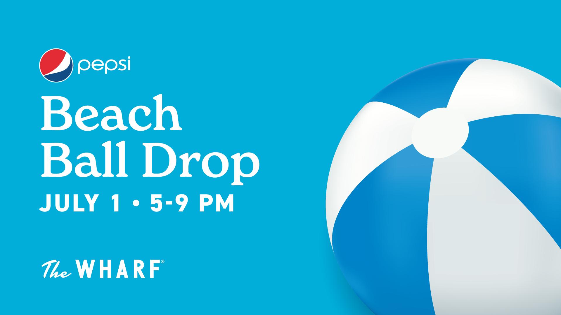 Pepsi Beach Ball Drop