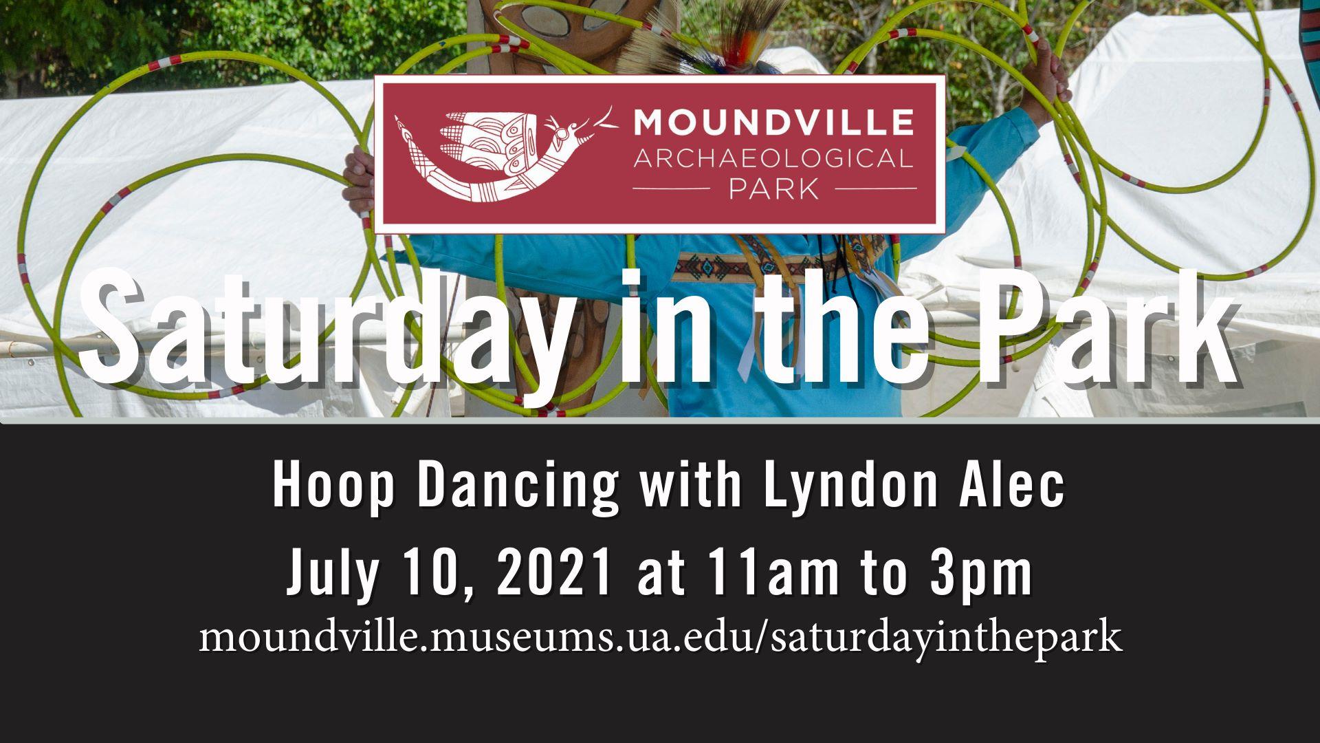 Saturday in the Park: Hoop Dancing with Lyndon Alec