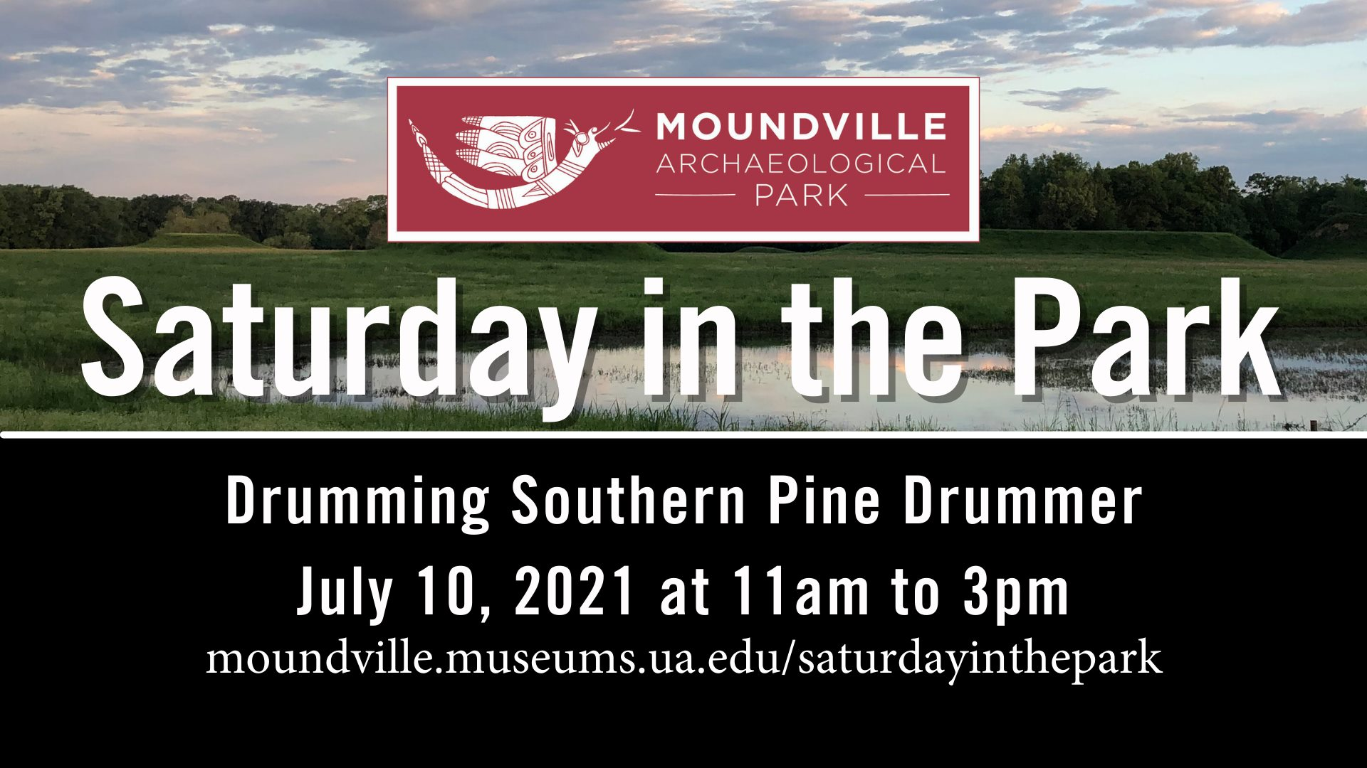 Saturday in the Park: Drumming Southern Pine Drummer