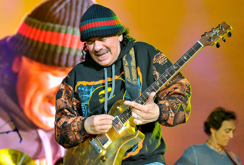 Santana at the Amphitheater
