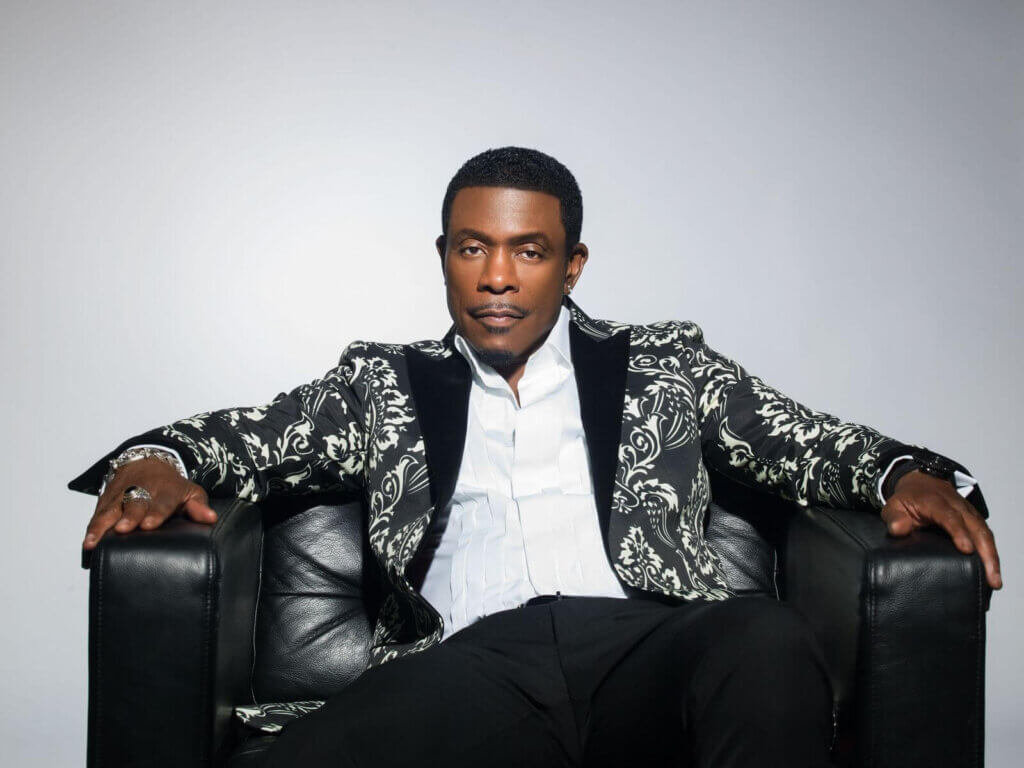 Keith Sweat at the Amp
