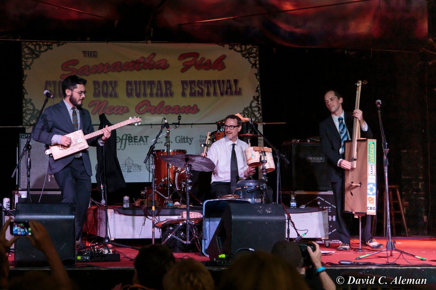 Concerts on the Dock: Cigar Box Serenaders